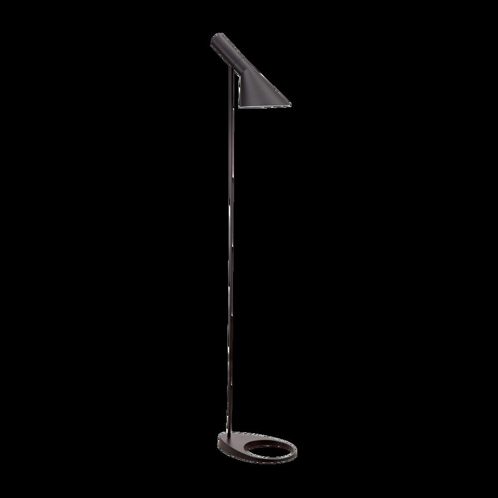 aj floor lamp black