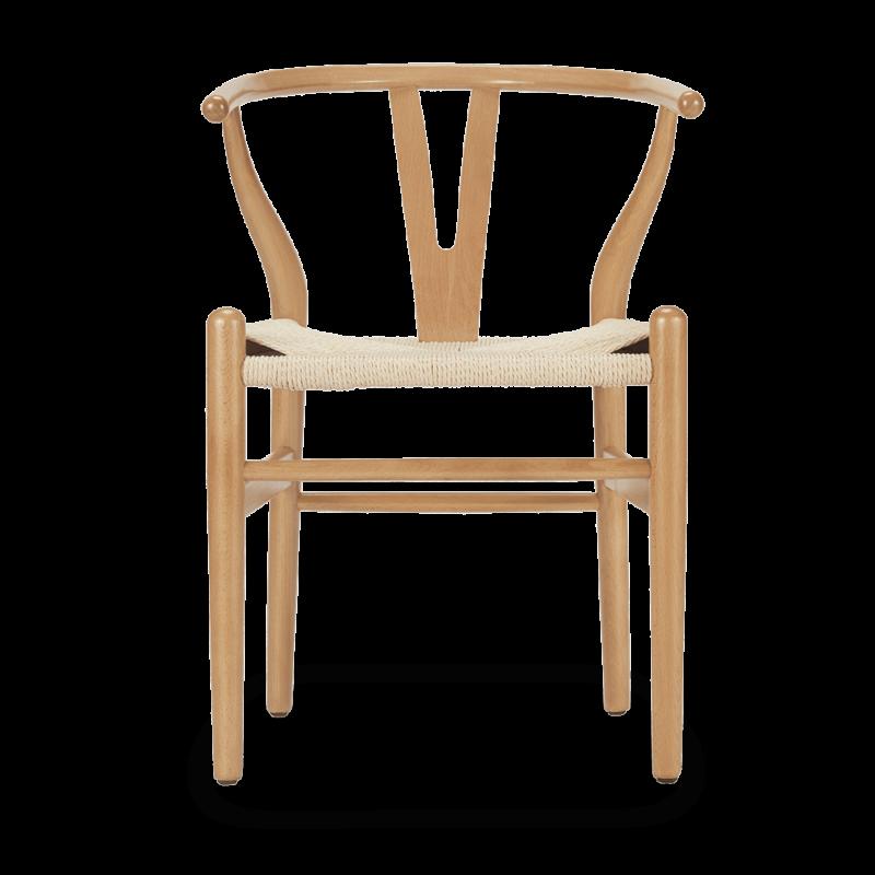 here's a beech chair
