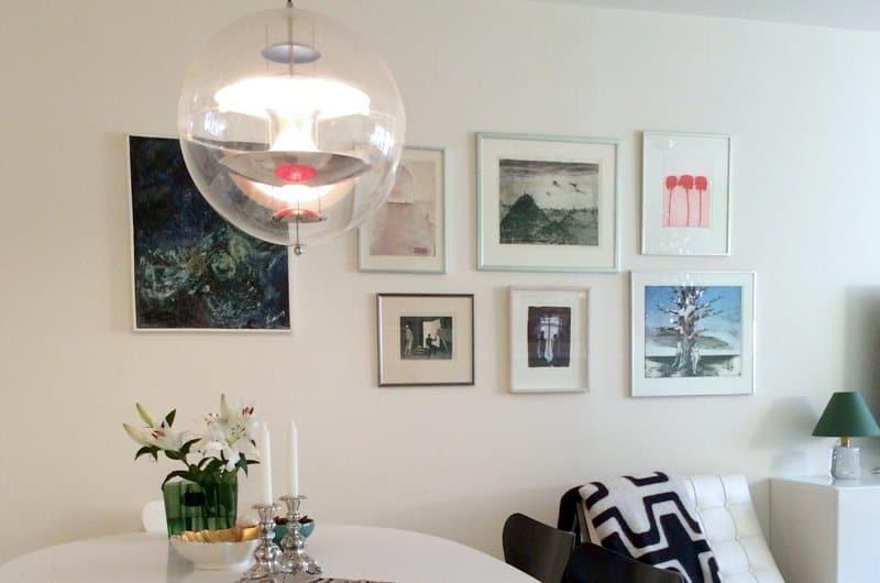 customer globe lamp | byBespoek