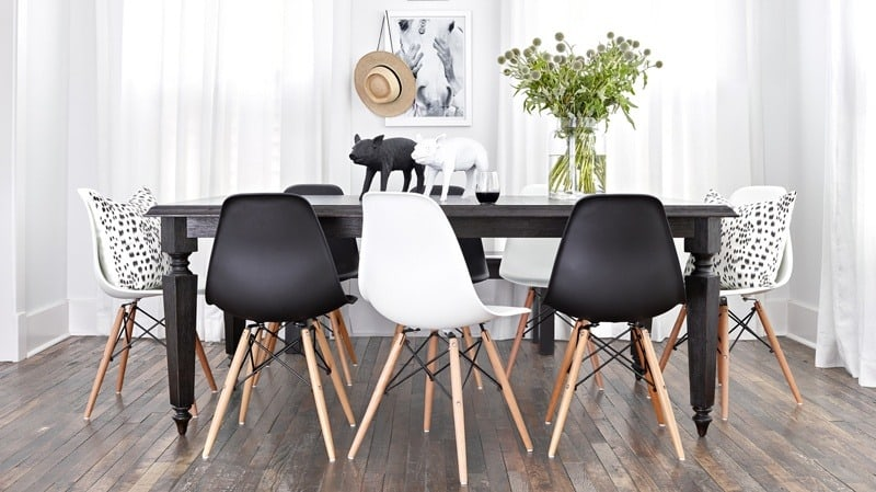 eames chairs scandinavian style   byBespoek