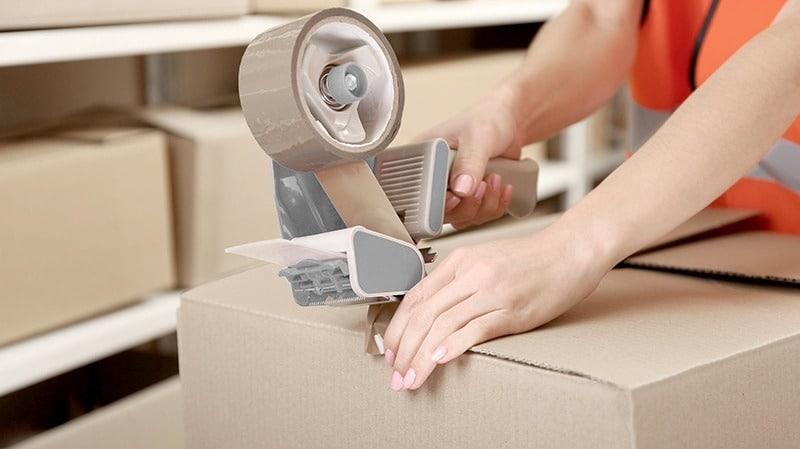 warehouse packaging | byBespoek