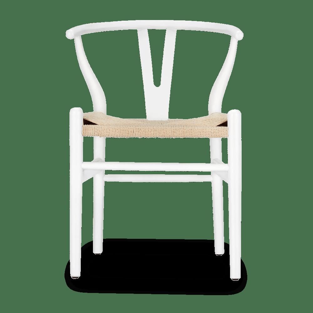 buy a white wishbone chair