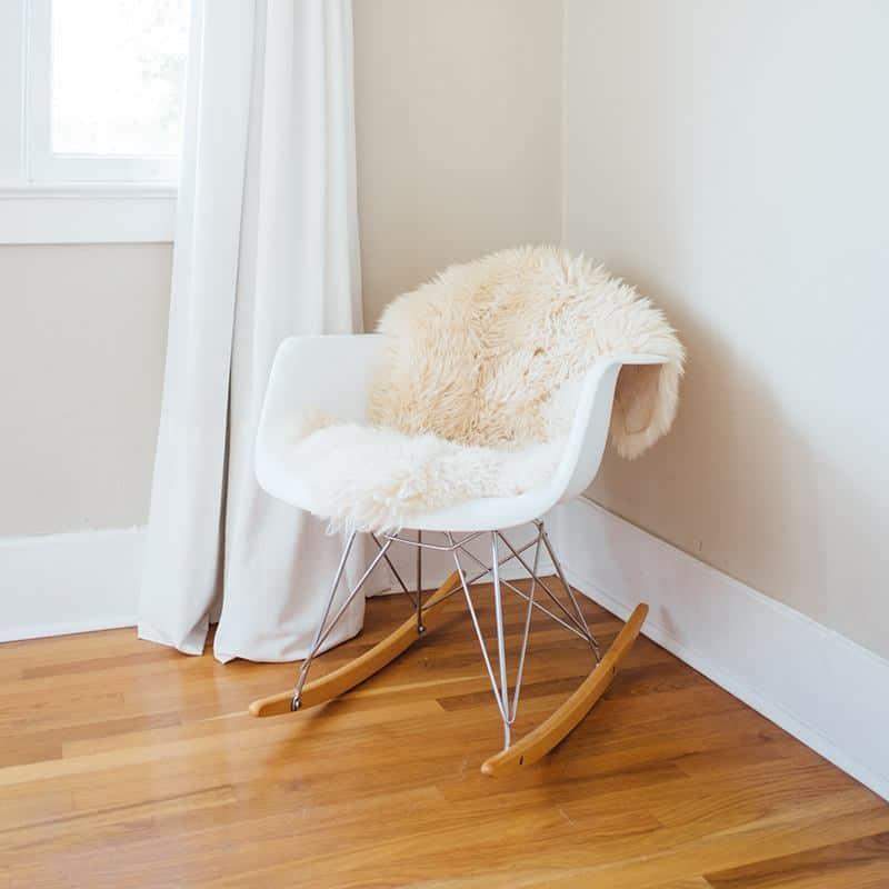 rocking chair inside the room | byBespoek