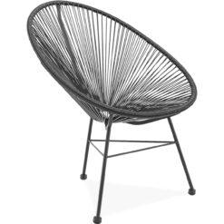 acapulco chair black side | byBespoek