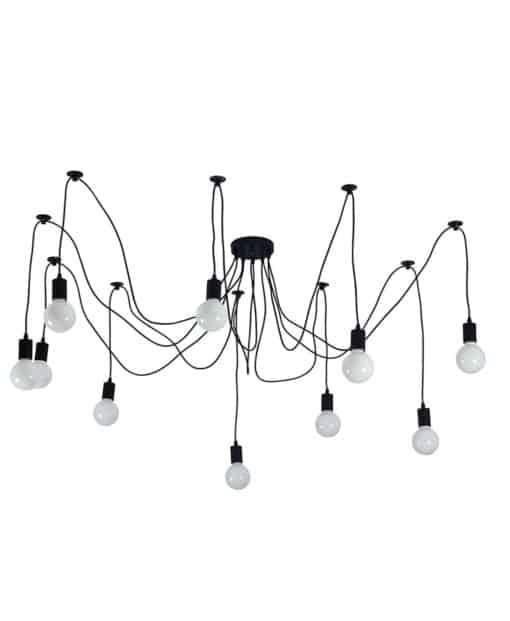 edison vintage spider ceiling lamp | byBespoek