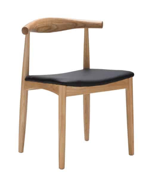 elbow chair ash side | byBespoek