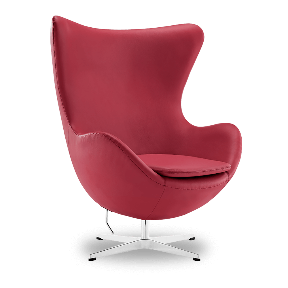 get this leather red chair