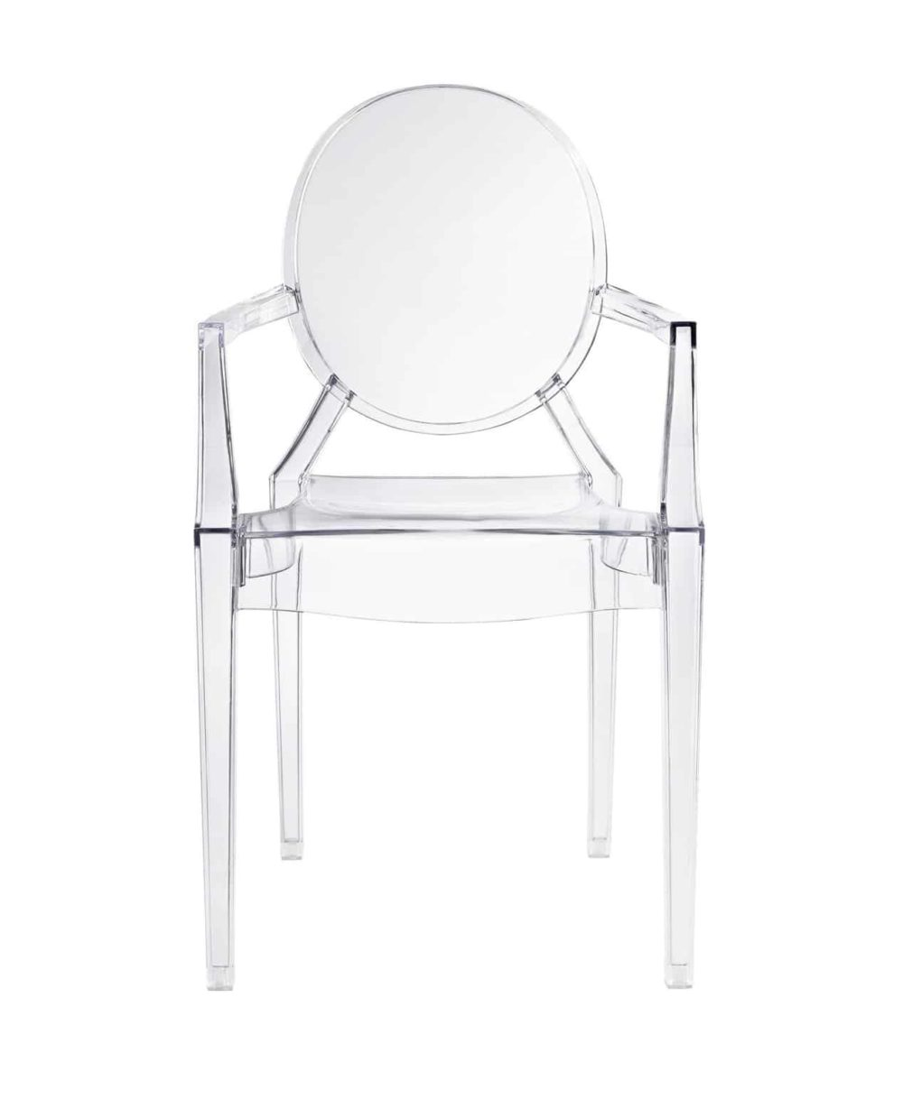 louis ghost chair clear front | byBespoek