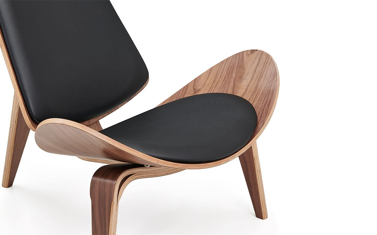 see shell chair detail