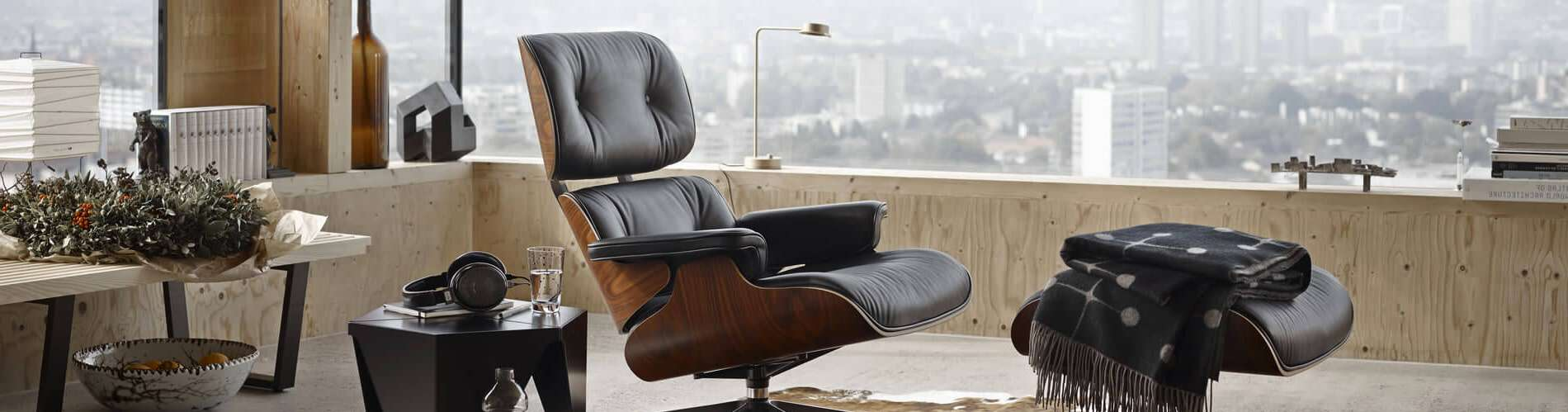 eames lounge chair landing page banner - byBESPOEK