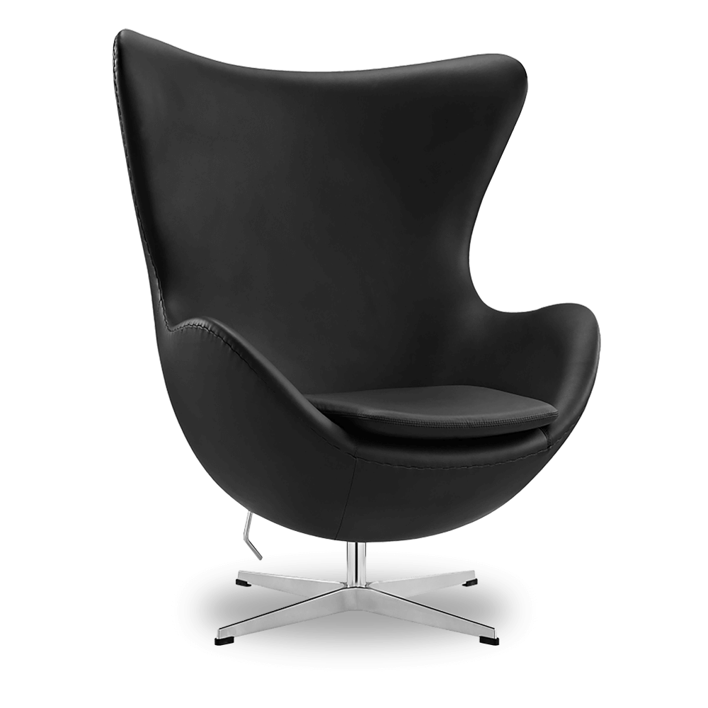 egg chair leather