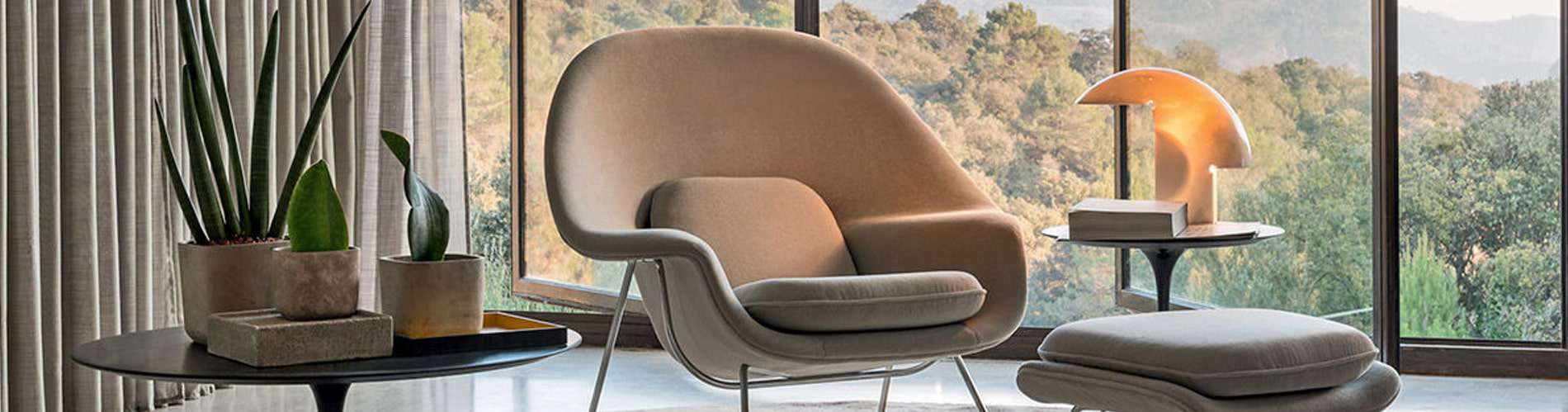 womb chair landing page banner   byBespoek