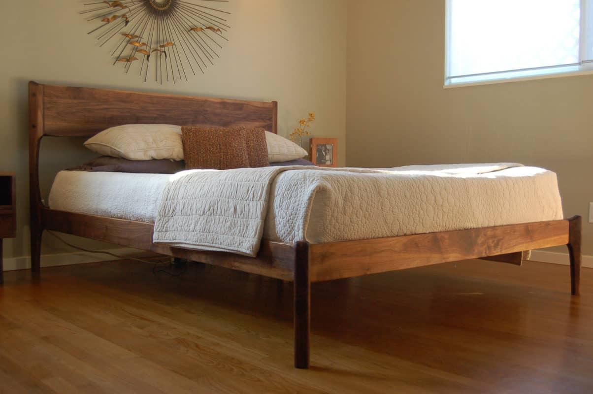 mid century modern bedroom | byBespoek