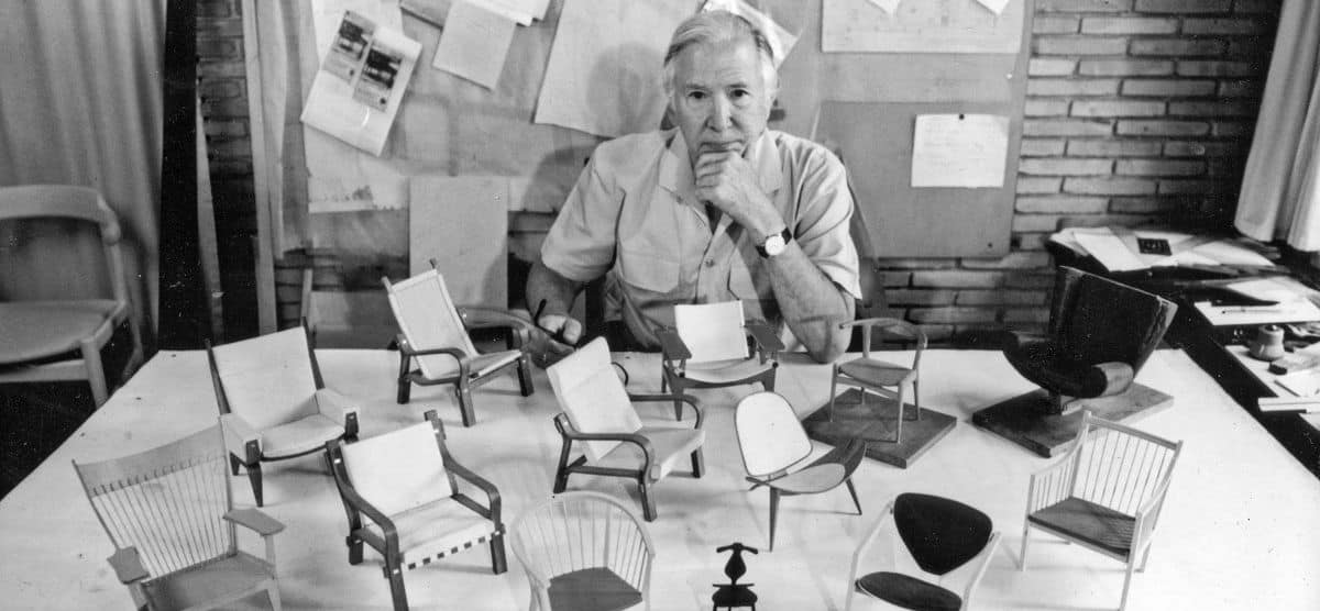 hans wegner danish mid century furniture designers - byBESPOEK