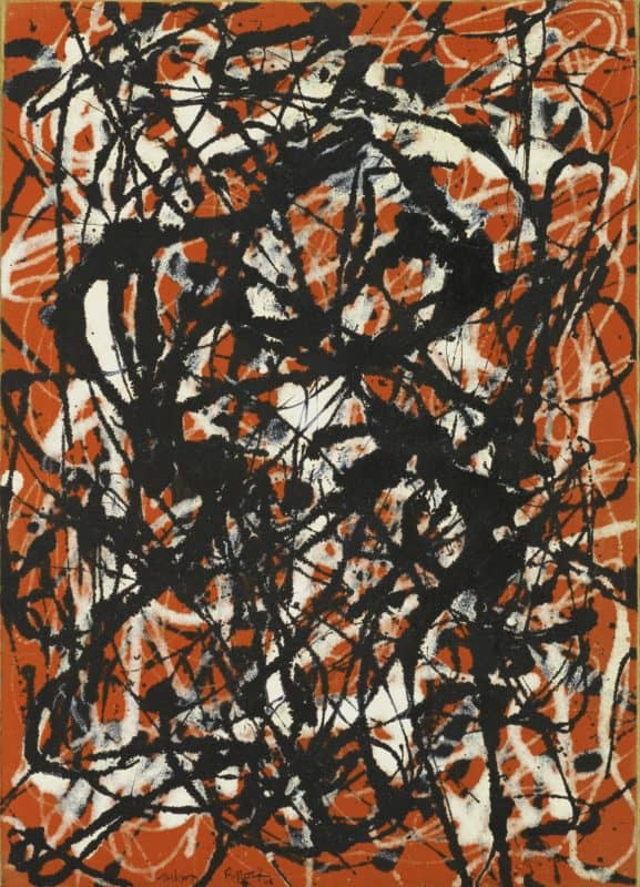 jackson pollock abstract midcentury painting