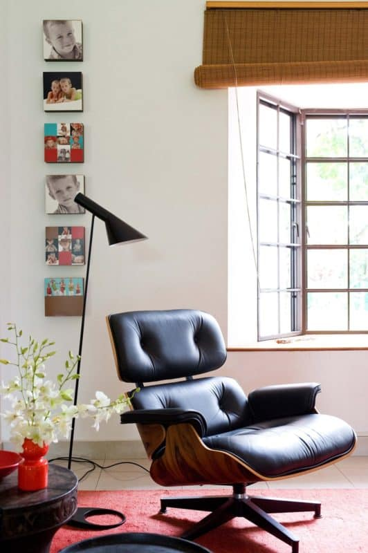 mid century accent lounge chair | byBespoek
