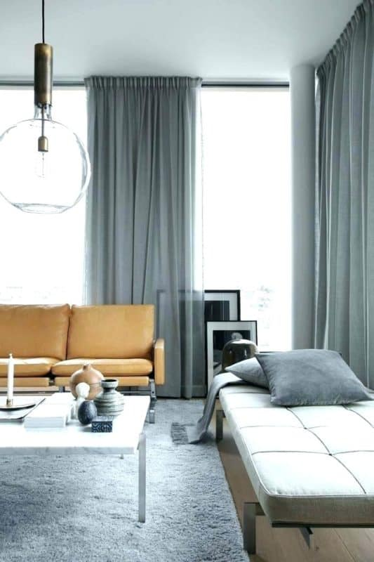 mid century curtains and drapes | byBespoek