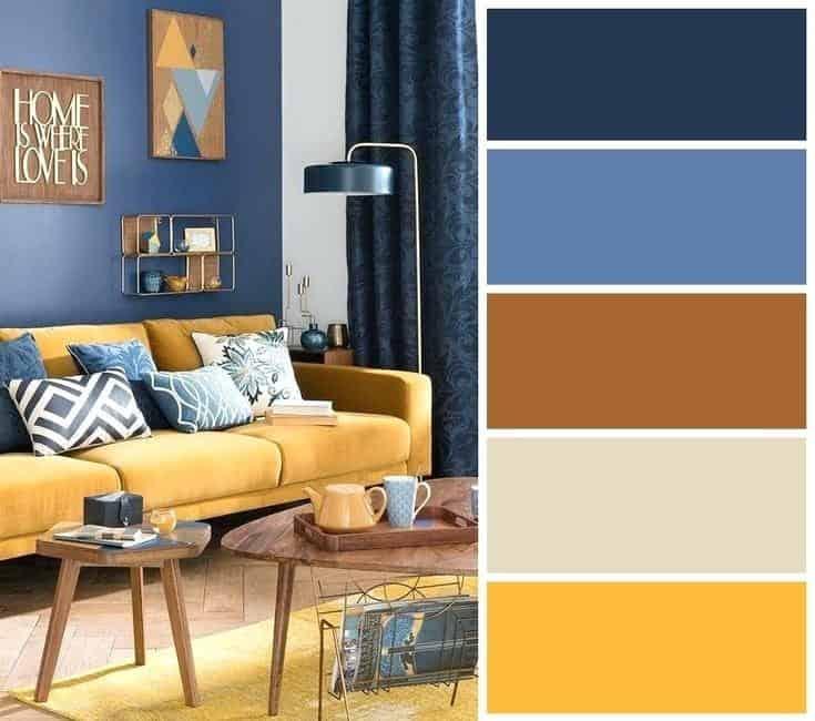 mid century color palette | byBespoek