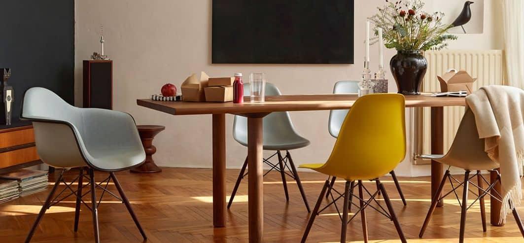 mid century modern american eames chairs | byBespoek