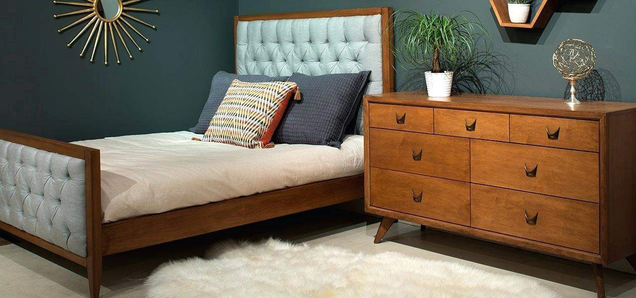 mid century bedroom decor credenzas cabinets