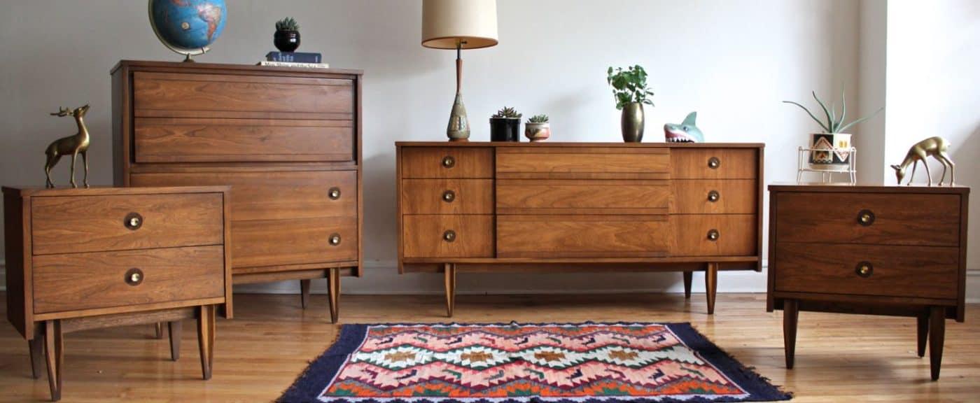 mid century modern cabinets interior design | byBespoek