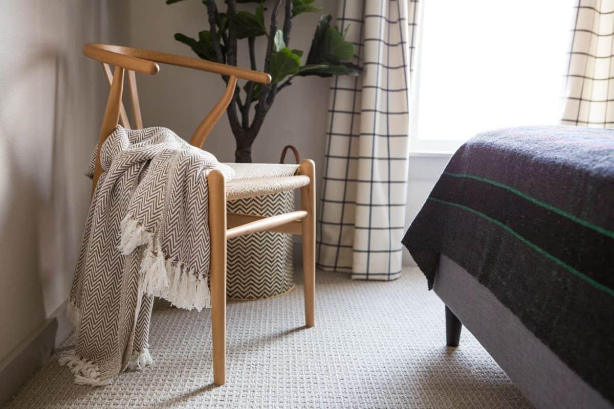 mid century modern decor wishbone chair | byBespoek