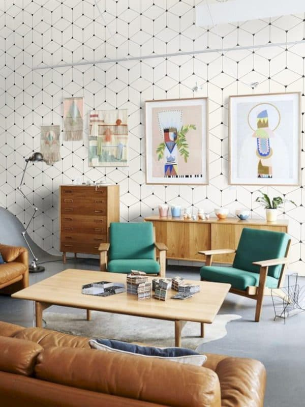 mid century modern design interior decor | byBespoek