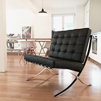 Barcelona Chair - <b>Black</b>