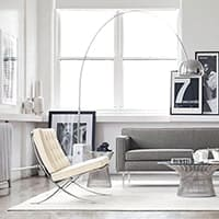 Barcelona Chair - <b>White</b>