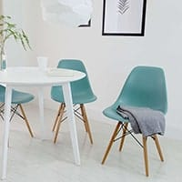 Eames DSW Chairs - <b>Teal</b>