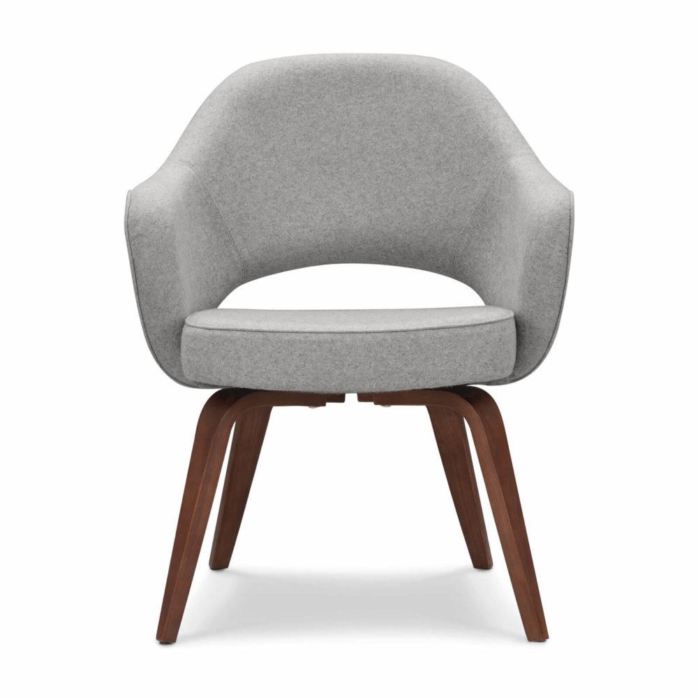 Executive Arm Chair Wooden Legs